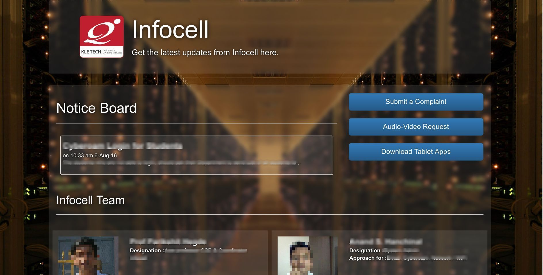 Infocell website